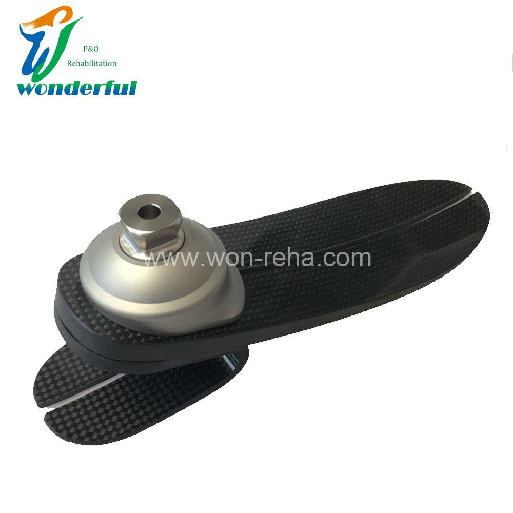 Low Ankle Carbon Fiber Elastic Foot With SS Adapter