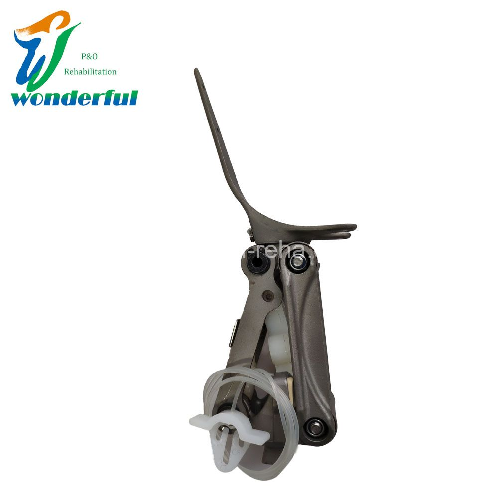 4-Bar Linkage Knee Joint With Manual Lock For Knee Disarticulation