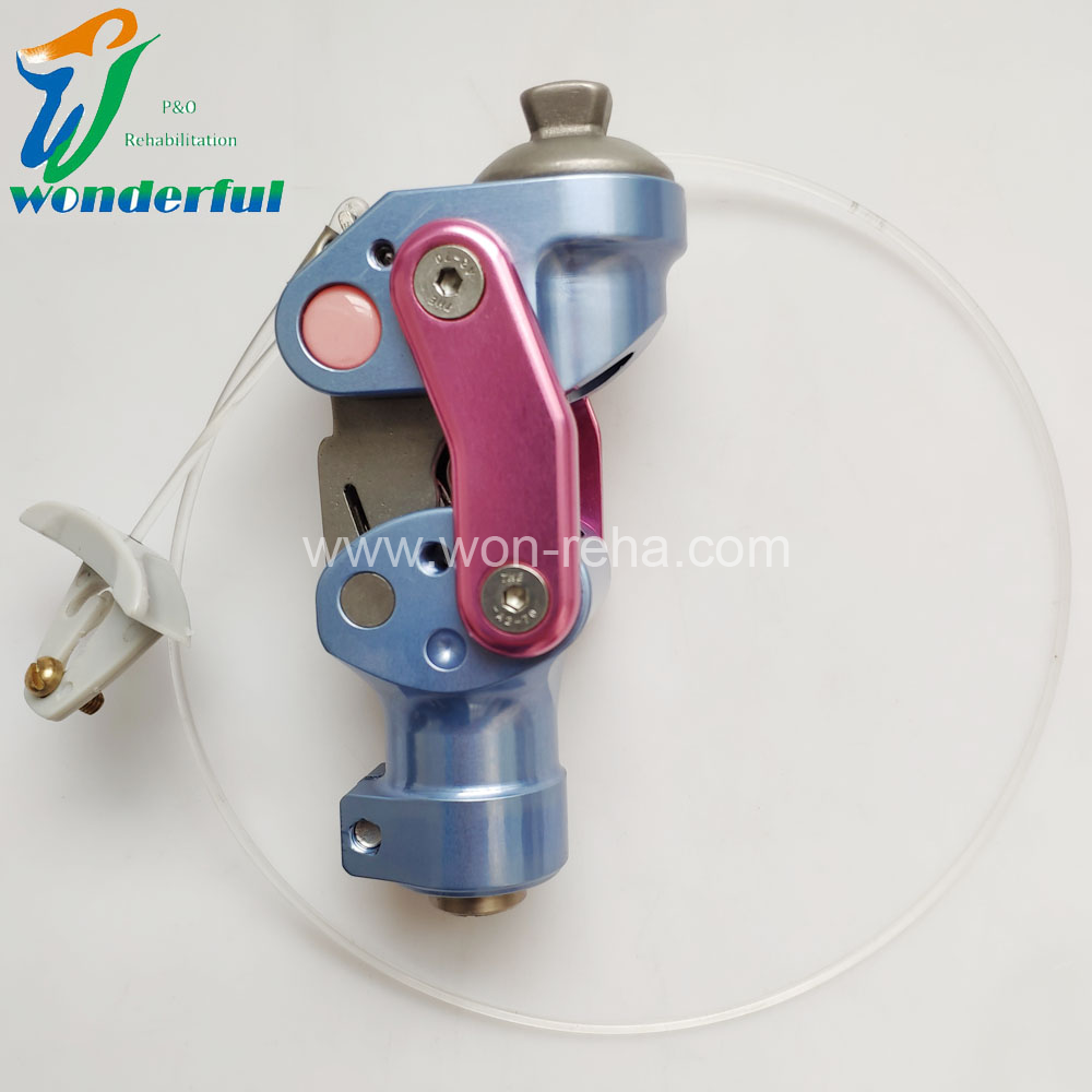 Aluminum 4-Bar Knee Joint with wire lock for Children